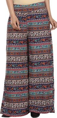 Anam Export Regular Fit Women's Multicolor Trousers
