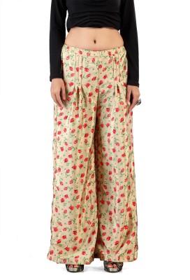 Admyrin Regular Fit Women's Beige Trousers