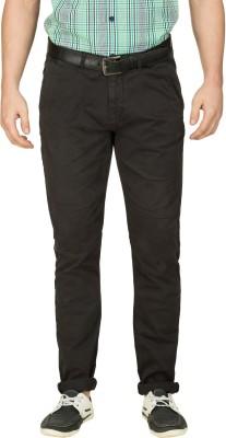 Zovi Slim Fit Men's Grey Trousers