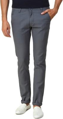 Men In Class Slim Fit Men's Blue Trousers