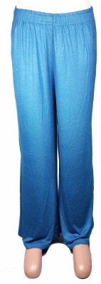 Bluedge Regular Fit Women's Blue Trousers