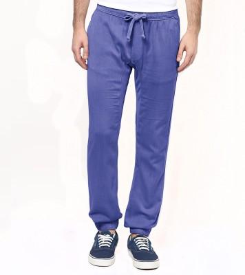 Wear Your Mind Regular Fit Men's Light Blue Trousers