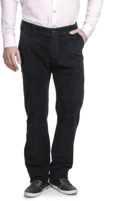 Ruace Regular Fit Men's Black Trousers