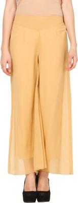 Pretty Angel Regular Fit Women's Beige Trousers