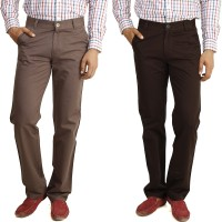 Eprilla Regular Fit Mens Multicolor Trousers