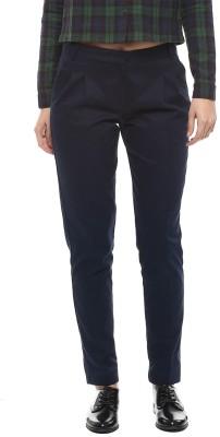 MARTINI Regular Fit Women's Dark Blue Trousers