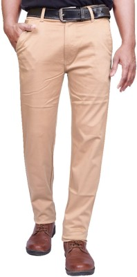 American Noti Slim Fit Men's Beige Trousers
