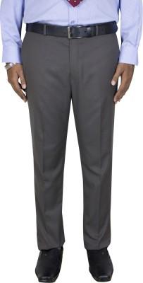 Kinger Regular Fit Men's Brown Trousers