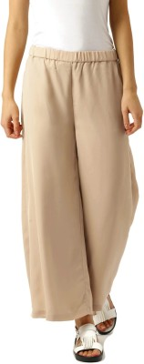 Dressberry Regular Fit Women's Beige Trousers at flipkart