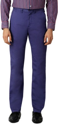 Allen Solly Regular Fit Men,s Blue Trousers