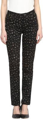 Sakhi Sang Slim Fit Women's Black Trousers