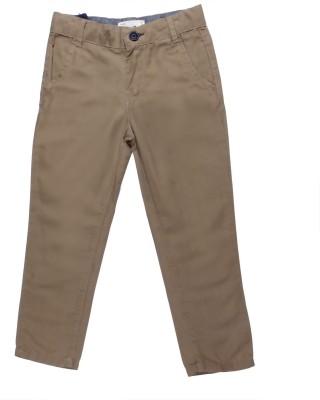 Coffee Bean Regular Fit Boy's Beige Trousers
