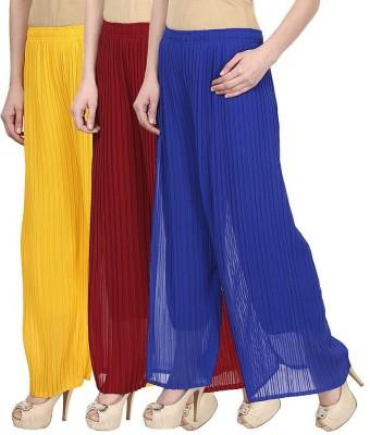 Rakshita's Collection Regular Fit Women's Multicolor Trousers