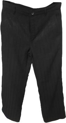 Trifoi Regular Fit Men's Black Trousers