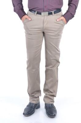 Rapid Regular Fit Men's Grey Trousers