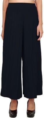 LondonHouze Regular Fit Women's Black Trousers