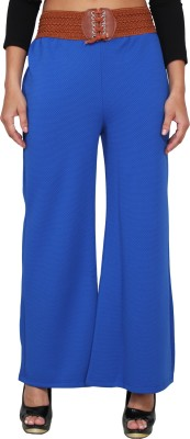 LGC Regular Fit Women's Light Blue Trousers