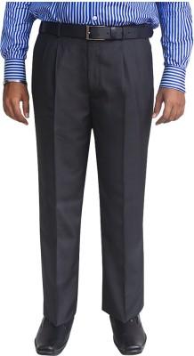 Kinger Regular Fit Men's Black Trousers