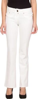 Species Regular Fit Women's White Trousers