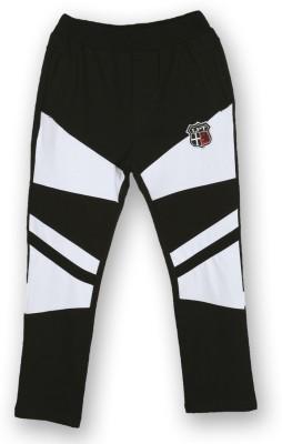 Lilliput Regular Fit Boy's Black Trousers
