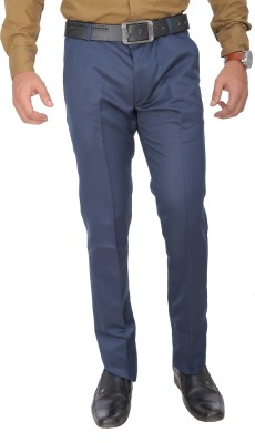 R-Marvins Slim Fit Men's Dark Blue Trousers