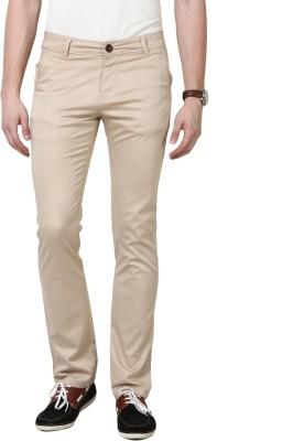 3Concept Slim Fit Men's Cream Trousers