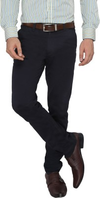 FN Jeans Regular Fit Men's Dark Blue Trousers