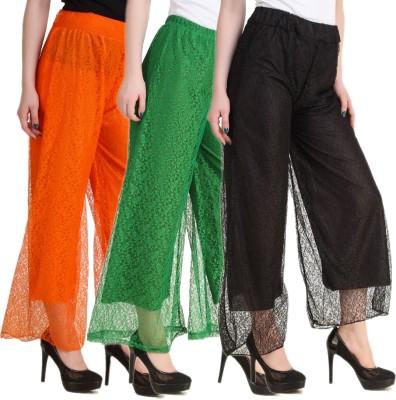 Hardys Slim Fit Women's Multicolor Trousers