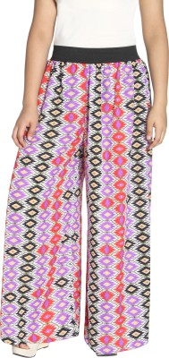 Lady In Style Regular Fit Women's Multicolor Trousers