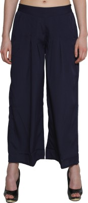 Aurelia Regular Fit Women's Blue Trousers
