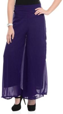 Magrace Regular Fit Women's Dark Blue Trousers