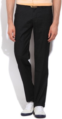 Killer Regular Fit Men,s Black Trousers