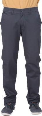AUSSUM Regular Fit Men's Dark Blue Trousers