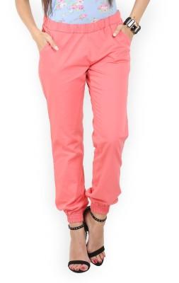 Max Regular Fit Women's Orange Trousers