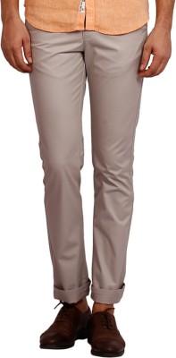 Volume Zero Slim Fit Men's Grey Trousers