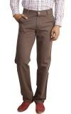 Eprilla Regular Fit Men's Brown Trousers