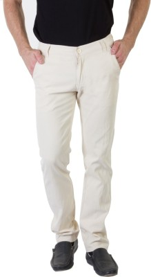 Bloos Jeans Slim Fit Men's Cream Trousers