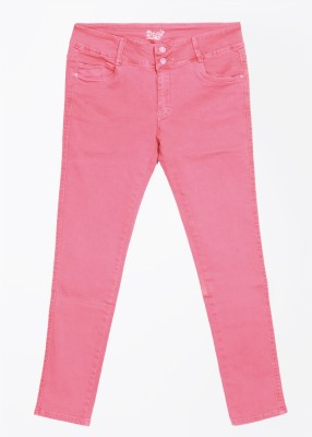Deal Jeans Slim Fit Women's Pink Trousers