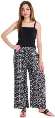 Fille Divin Regular Fit Women's Multicolor Trousers