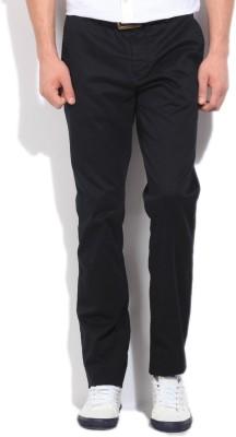 Gant Slim Fit Men's Black Trousers