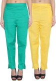 NumBrave Regular Fit Women's Green, Yell...