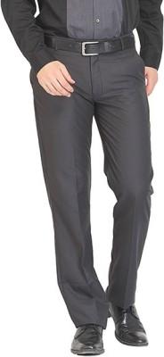 Nattg Slim Fit Men's Black Trousers