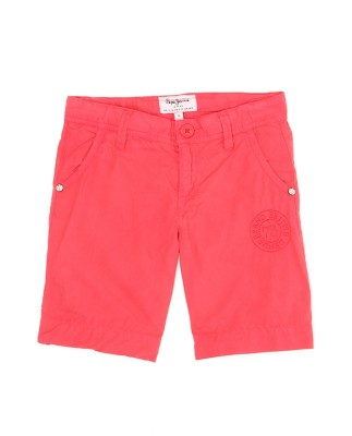 Pepe Jeans Regular Fit Boy's Red Trousers