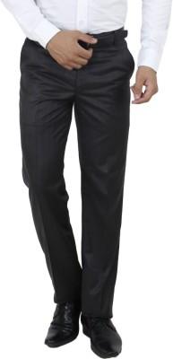 Jhon Diego Regular Fit Men's Blue, Grey Trousers