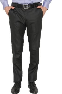 Donear NXG Slim Fit Men's Black Trousers