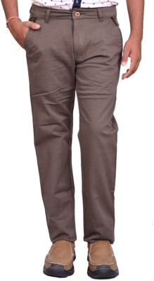 British Terminal Slim Fit Mens Grey Trousers