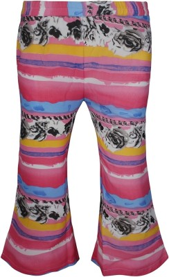 Jazzup Regular Fit Girl's Pink, Blue Trousers