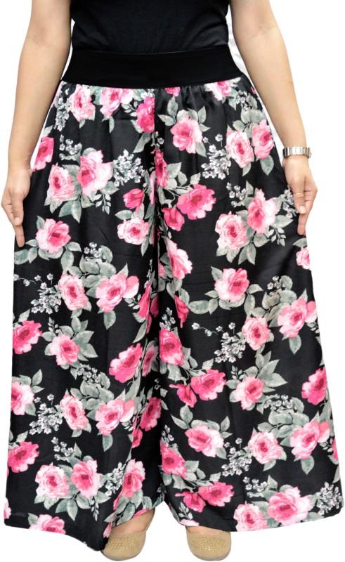 V3ishop Regular Fit Women's Multicolor Trousers