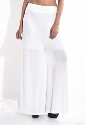 Sohniye Regular Fit Women's White Trousers