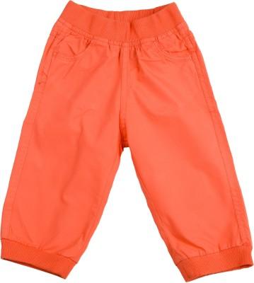 Addyvero Regular Fit Girl's Orange Trousers